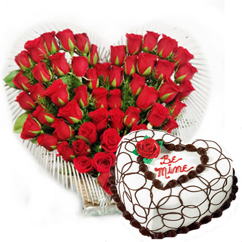 flowers and cake midnight delivery hyderabad